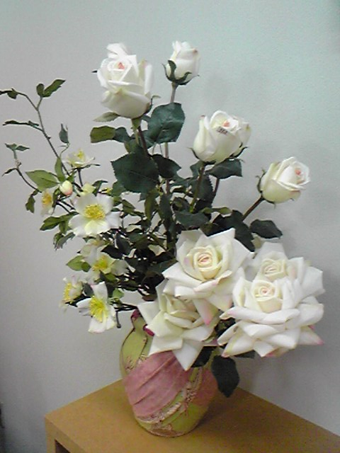 造花の薔薇